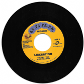 Raging Fyah & Mr. Williams - Liberation / Luciano - Family (AL.TA.FA.AN. RECORDS / Buy Reggae) 7""